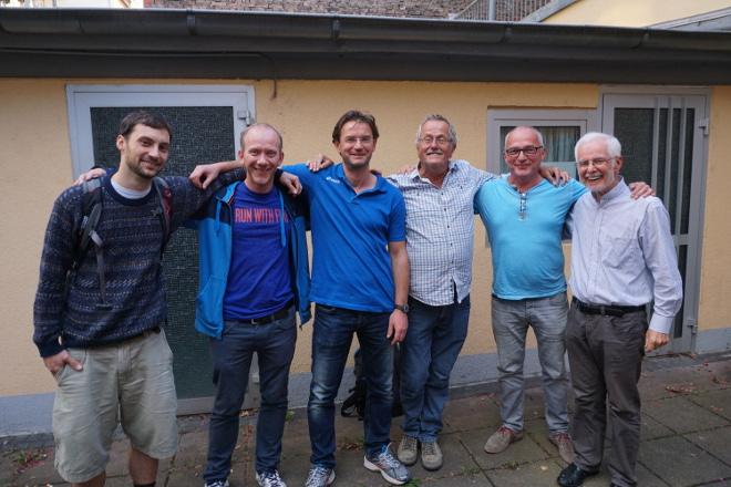 MIP II: Lorenz, Jörg, Geralf, Magic Herbert, Walter, Bernd